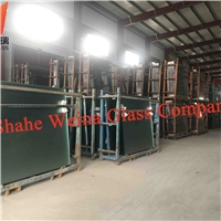 4.5mm clear float glass from Weina Glass with high light transmittance