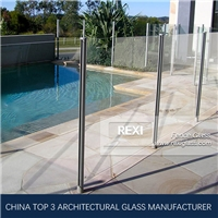 Glass Pool Fencing by Tempered Glass, Laminated Glass, CE, SGCC&AS/NZS certified
