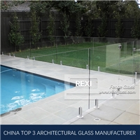 clear glass pool fencing by Tempered Glass, Laminated Glass, CE, SGCC&AS/NZS certified