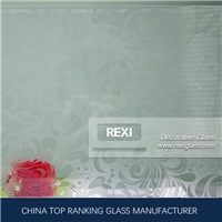Decorative Glass, patterned glass, mirror, acid etched glass, lacqured glass, CE certified