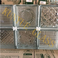 190x190x80mm Clear/Colored Glass Block Glass Brick Manufacturer