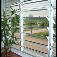 Louvres glass