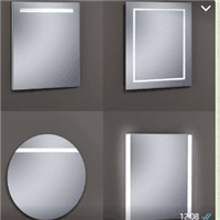 bathroom mirror LED mirror
