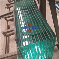15mm 19mm flat extra-clear, low iron tempered glass