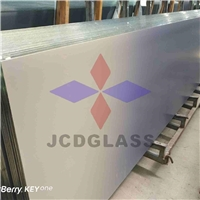 Jumbo size Ceramic Fritted, silk screen printed glass