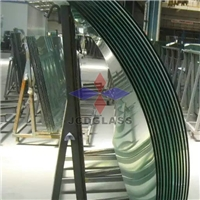 11.52mm, 13.52mm, 17.52mm, 21.52mm Curved/Bend Tempered Laminated Glass