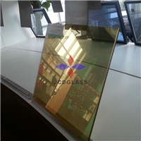 5-10mm  Golden reflective glass
