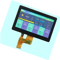 7 inch TFT color screen1024 * 600 resolution screen  With CTP n