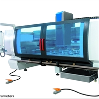 hot sales CNC Glass machinery for drilling ,grinding ,polishing ,milling ,grooving etc