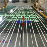 19mm jumbo size silk screen printed glass