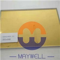 3mm 4mm 4.5mm 5mm 5.3mm 6mm 8mm 10mm 12mm Golden reflective glass,  Yellow reflective Glass, 24K glass