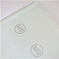 Customized Bevel Edge Switch Glass Plates
