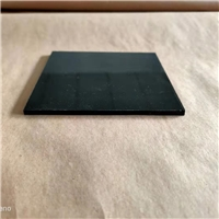 black, grey float glass for auto sunroof