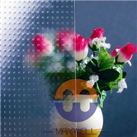 Millennium Patterned Glass, Clear Pattern Glass with CE&ISO Certificate, Design glass