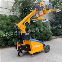 600kg glass moving trolley glass lifter robot