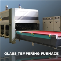YTP-W Soft Roller Bend&flat Glass Toughening Furnace