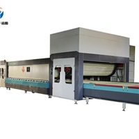 YTP-W Hard Roller Bent&flat Glass tempering oven