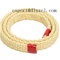 High temperature resistant kevlar rope with high quality in tempering furnace