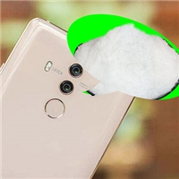 Glass frosting powder with gradual change