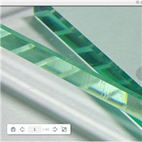3-12mm shengyu clear float glass for building & project etc.