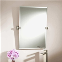 Bathroom mirror with Fenzi Paints Silver Coated Mirror Glass