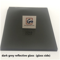 4-6mm Dark Grey Reflective Float Glass