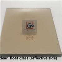 4mm Clear Reflective Float Glass tempered grade