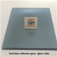 4mm 5mm 5.3mm 6mm 8mm Ford Blue Reflective Float Glass