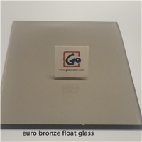 4MM/5MM/6MM Euro Bronze Float Glass