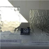 Clear Ripple Figured glass