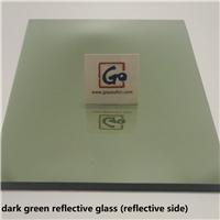 Dark Geen Reflective Float Glass