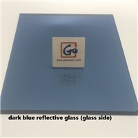 Dark Blue Reflective Float Glass