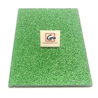 4MM Green Nashiji Figured Glass