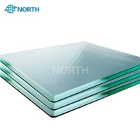 Good Quality 6.38mm 8.38mm Black Color Laminated Glass Supplier