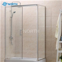 Hot sales shower room tempered toughened glass