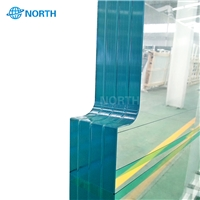 Low Iron Tempered Glass Railings