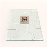 3mm--8mm High Quality Patterned Glass Clear &Coloured