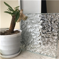 Hot-melt decorative glass