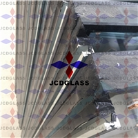Insulated glass with frames, aluminium profiles