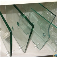 Customized clear tempered glass with High quality polished edge