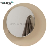 2020 Sliver Simple Silver Bathroom mirror with caps