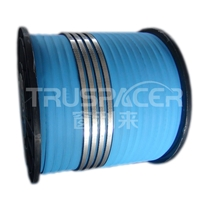 Flexible aluminum compound sealing spacer for hollow glass