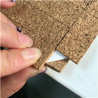 No Residue Glass Pads Glass Separator Pads Cork Pads with Sponge From Chinese Factory
