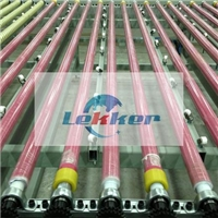 Transmission & Forming Rollers, Rubber coated steel roller