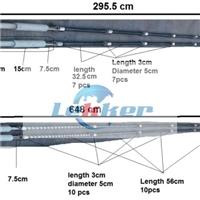 TAMGLASS ProE-2448-CS1-20-R heater stainless steel tube, TAMGLASS Proconvection-2448-CTS-20-R heater stainless steel tube