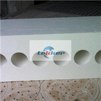 Ceramic brick, T shape ceramic tube, Ceramic roller support, for glass tempering furnace