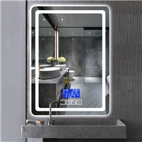 Bathroom mirror led mirror Intelligent Anti fog Led Light Bluetooth Bathroom Vanity Mirror