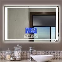 hot selling intelligent  Anti-fog Led light Bluetooth bathroom mirro