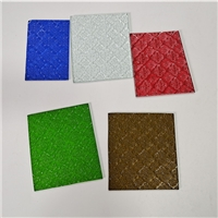 3mm 4mm 5mm 6mm Figured glass float patterned glass