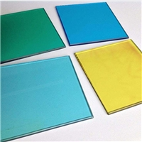 Factory  color  glass sheet